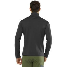 Salomon Outrack Camiseta Mid 1/2 Cremallera Hombre, negro